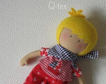 Q-tee rag doll Marvin