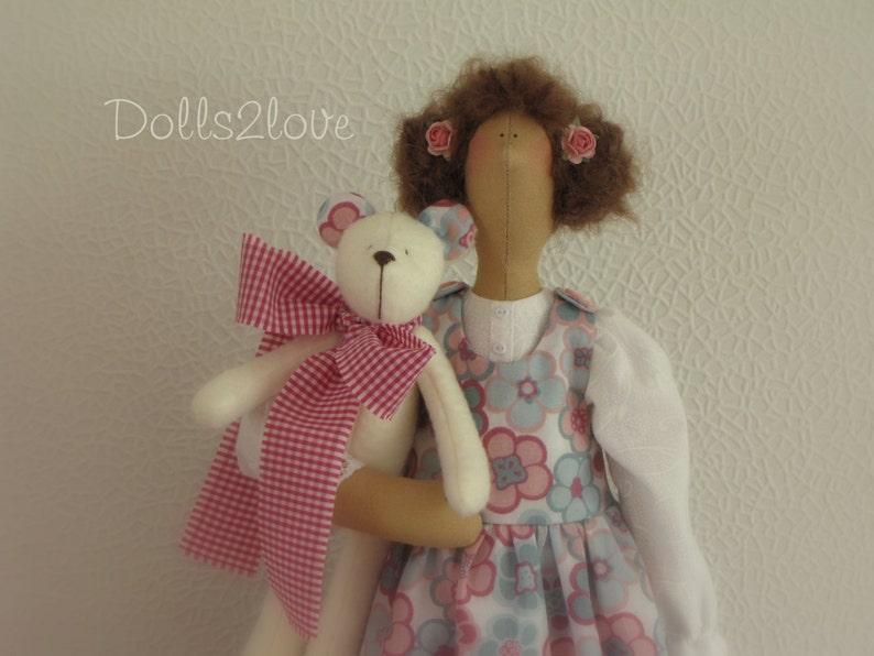 Dolls & Bears Art Dolls-ooak Tilda Display Doll Handsome Appearance