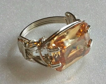 Custom Order, wire wrap setting or resetting.  Various examples pictured.  You supply stone or I will locate a stone for you.