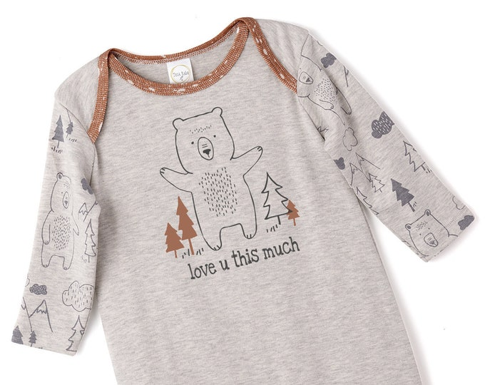Baby Boy Onesie, Baby Boy Coming Home Outfit, Newborn Boy Outfit, Baby Bear Romper, Baby Boy Bodysuit, Infant Baby Romper, Bears, Tesa Babe
