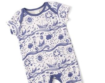 529991fab SALE Newborn Baby Boy Onesie Outfit Summer Baby Girl Green