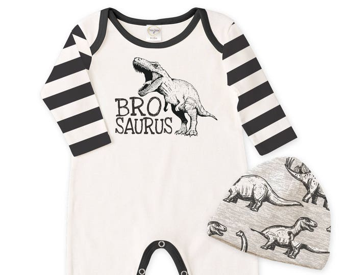 Newborn Boy Coming Home Outfit, Dinosaur Baby Clothes, Dinosaur Baby Boy Romper, Baby Dinosaurs Onesie, Newborn Infant Baby Outfit Tesa Babe