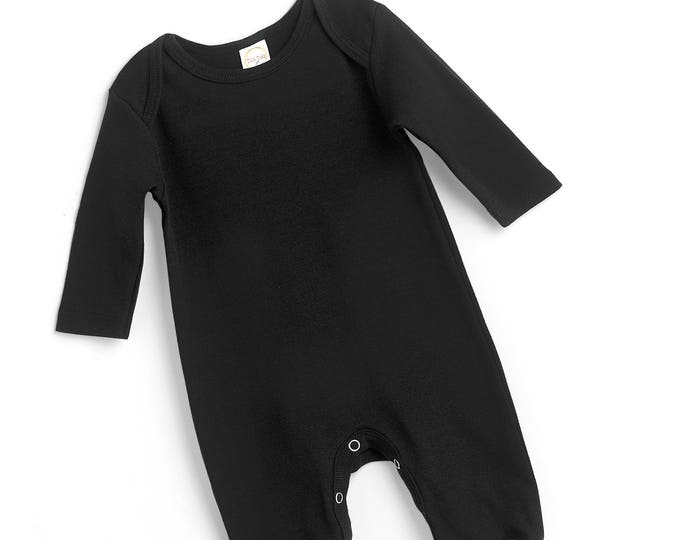 Newborn Coming Home Outfit, Newborn Boy Coming Home, Newborn Girl Coming Home, Minimalist Nursery, Baby Black Romper, Blank Romper, Tesababe