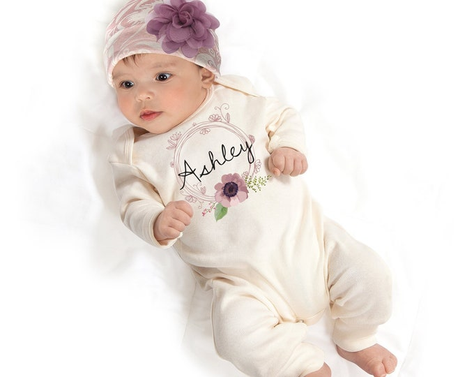 cc0f4812c52 Personalized Baby Romper - Baby Clothing Fashions in Quality Cotton