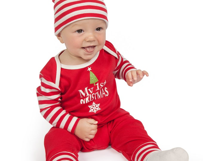 my first christmas baby romper newborn boy 1st christmas outfit infant newborn baby christmas