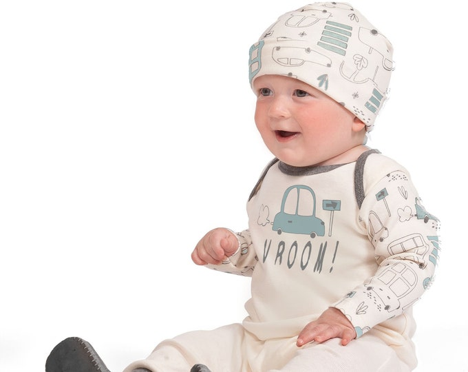 Baby Boy Onesie Cars, Newborn Jumpsuit, Infant Baby Boy Car Romper, Baby Bodysuit, Toddler Boy Clothing 3 6 9 12 18 Month Tesa Babe SS19-7