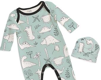 b995ef090 Baby Boy Dinosaur Outfit, Baby Dinosaur romper, Baby Boy Dinosaur Romper,  Infant Boy Bodysuit, Baby Dinosaur Clothes, Tesa Babe