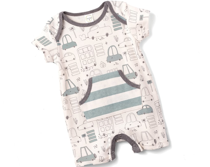 WHOLESALE BABY CLOTHES Baby Boy Onesie Cars, Newborn Baby Boy Romper, Baby Boy Cars Romper, Baby Gray Bodysuit, Infant Cars Baby Tesa Babe