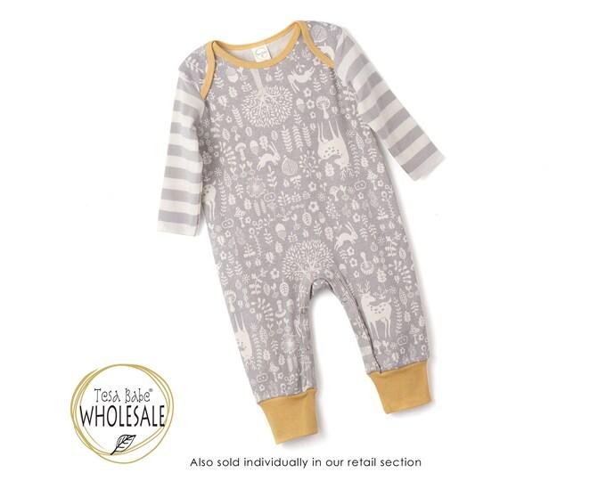 WHOLESALE Baby Boy Onesie Outfit, Newborn Baby Boy Outfit, Baby Boy Deer Romper, Baby Brown Bodysuit, Infant Deer Baby Romper Tesa Babe