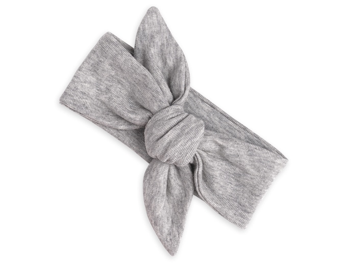 Baby Girl Headband, Newborn Girl Headbands, Baby Head Wrap, Toddler Headbands, Toddler Girl Clothing, Baby Girl Clothes, Gray, Grey Tesababe