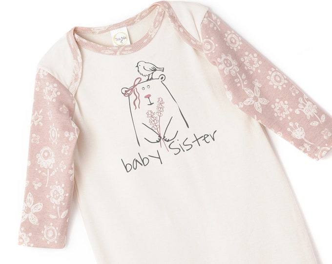 Baby Sister Onesie Outfit, Newborn Baby Sister Outfit, Little Sister Baby Romper, Baby Girl Clothes Sister, Infant Baby Romper, Tesa Babe