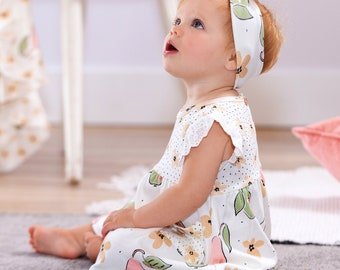 organic baby dresses organic dress organic kids clothes,organic baby navy baby girl dress pomegranate birds organic cotton baby dress