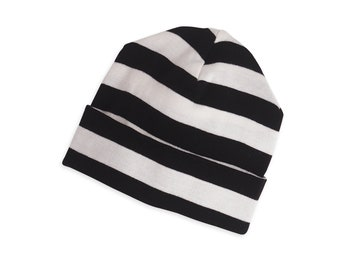 b8f561c3d0c ... baby hat newborn baby hat unisex black striped baby hat black striped baby  hat boy girl