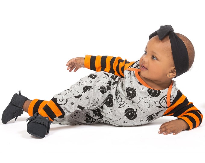 Halloween Baby Girl Pumpkin Outfit, My First Halloween Onesie Baby Girl, Pumpkin Halloween Onesie, Newborn Halloween Bodysuit Girls Tesababe