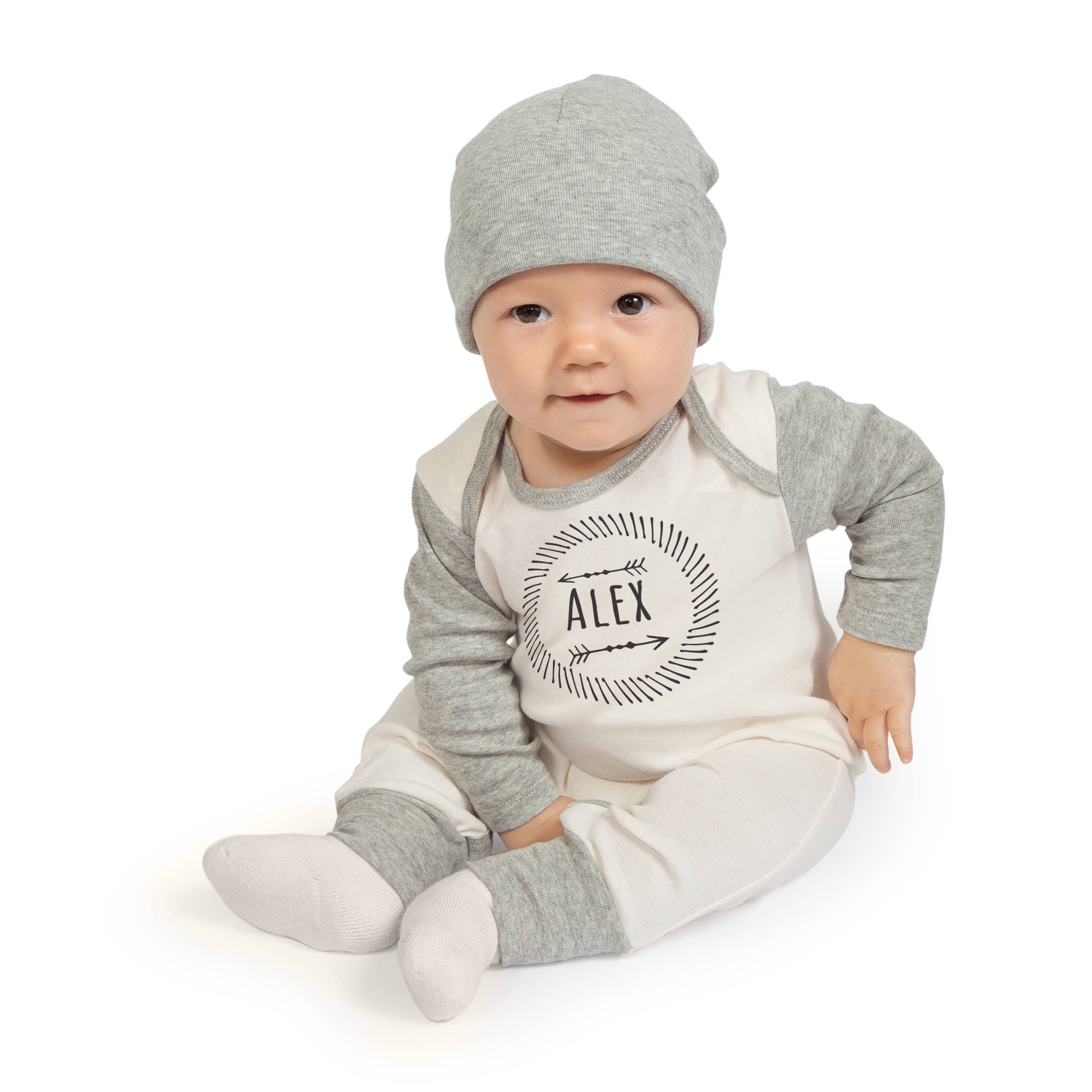 526277f25f4 Personalized Newborn Boy Coming Home Outfit