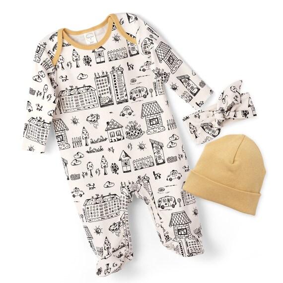 40cbf333d SALE Newborn Footie Romper Baby Footie Romper Baby Boy