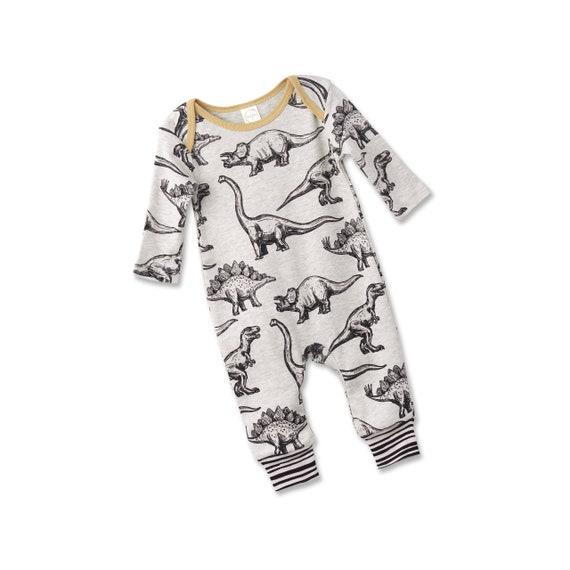 ae0ad2b8d441 Baby Boy Dinosaur Outfit Baby Dinosaur Onesie Baby Boy