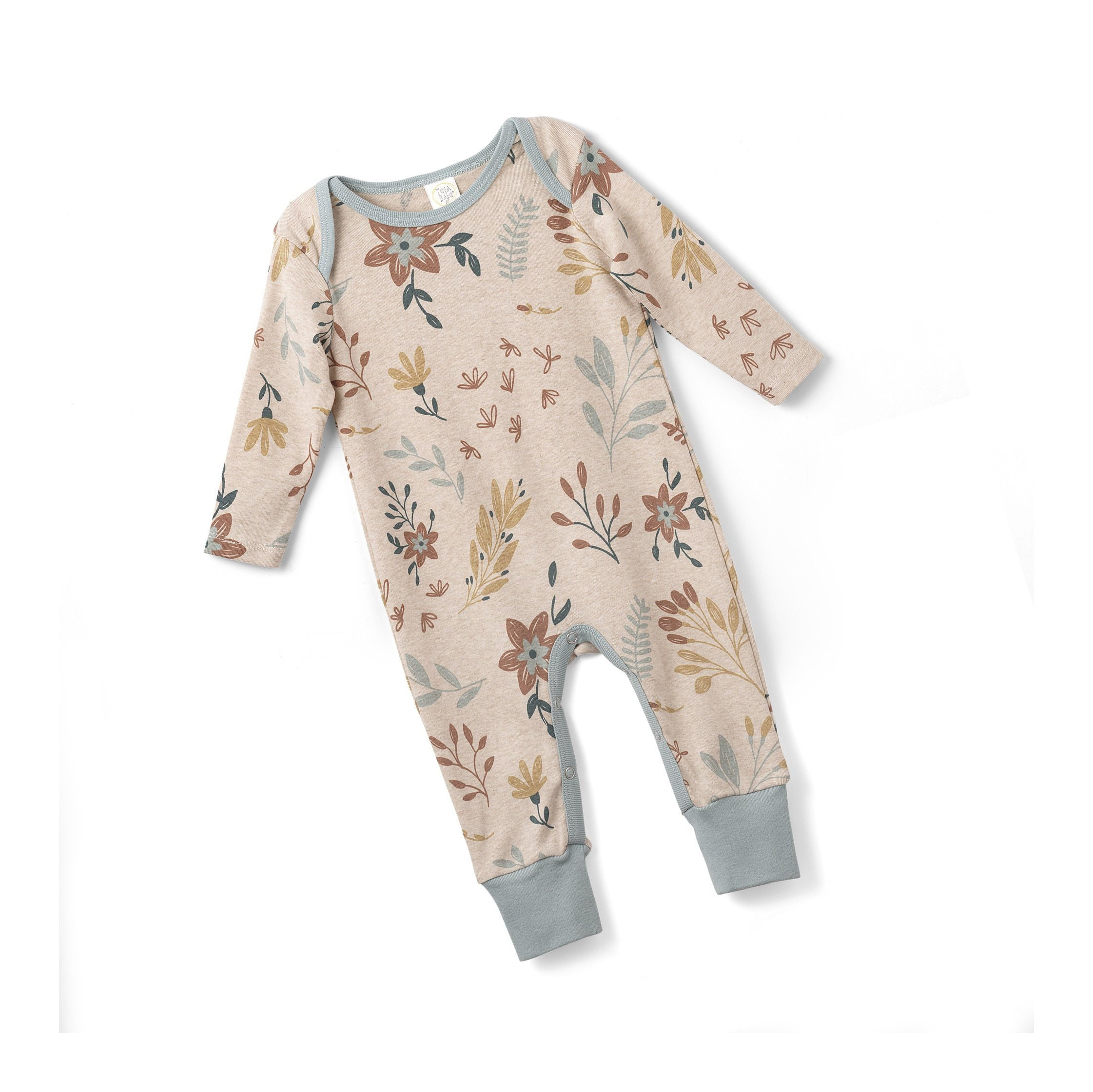 4ccfd3cfab7 Baby Girl Romper Country Flower Jumpsuit