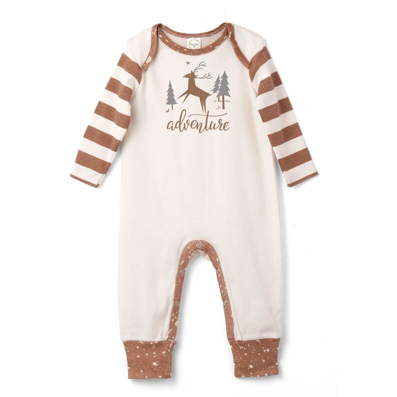 da440ce22377 Baby Holiday Onesie Newborn Boy Coming Home Outfit Baby Boy