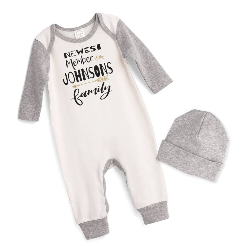 0867e3c08 Personalized Newborn Coming Home Outfit Newborn Boy Girl Take