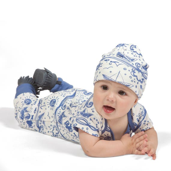 5fd2a7950 SALE ROMPER ONLY Newborn Baby Boy Coming Home Outfit Summer