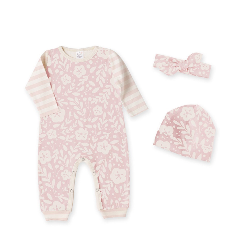 c59d5ecb8976 Newborn Girl Coming Home Outfit