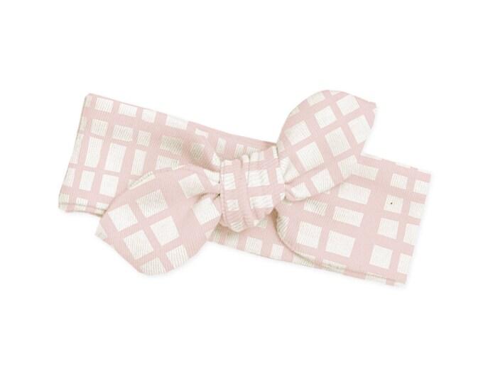 Pink Baby Girl Headband, Pink Baby Bow, Newborn Headband, Infant Baby Girl Bow Headband, Toddler Headbands, Pink Baby Bow Headband, TesaBabe