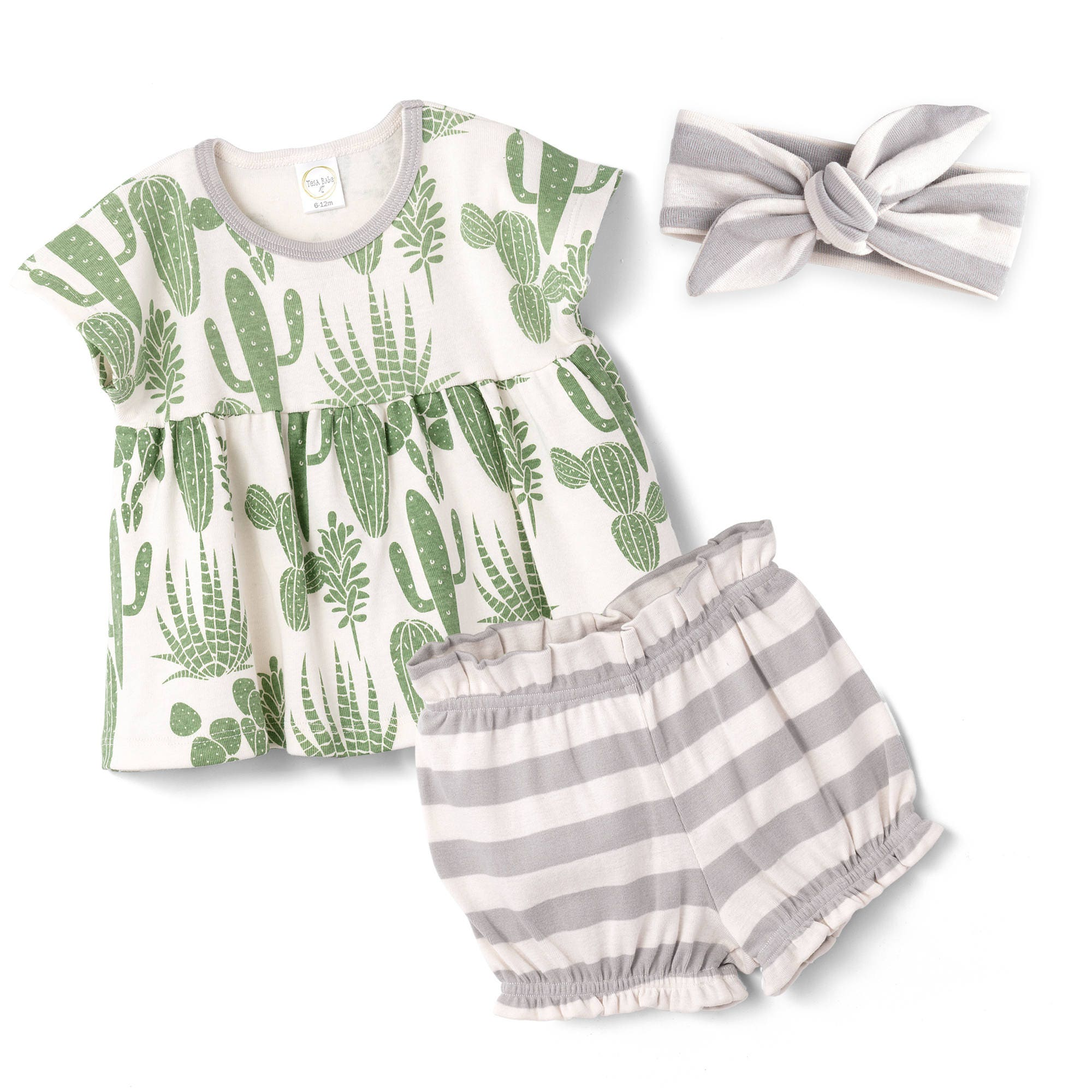 c773b010daf6 ... Baby Girl Cactus Outfit Tesa Babe. 1