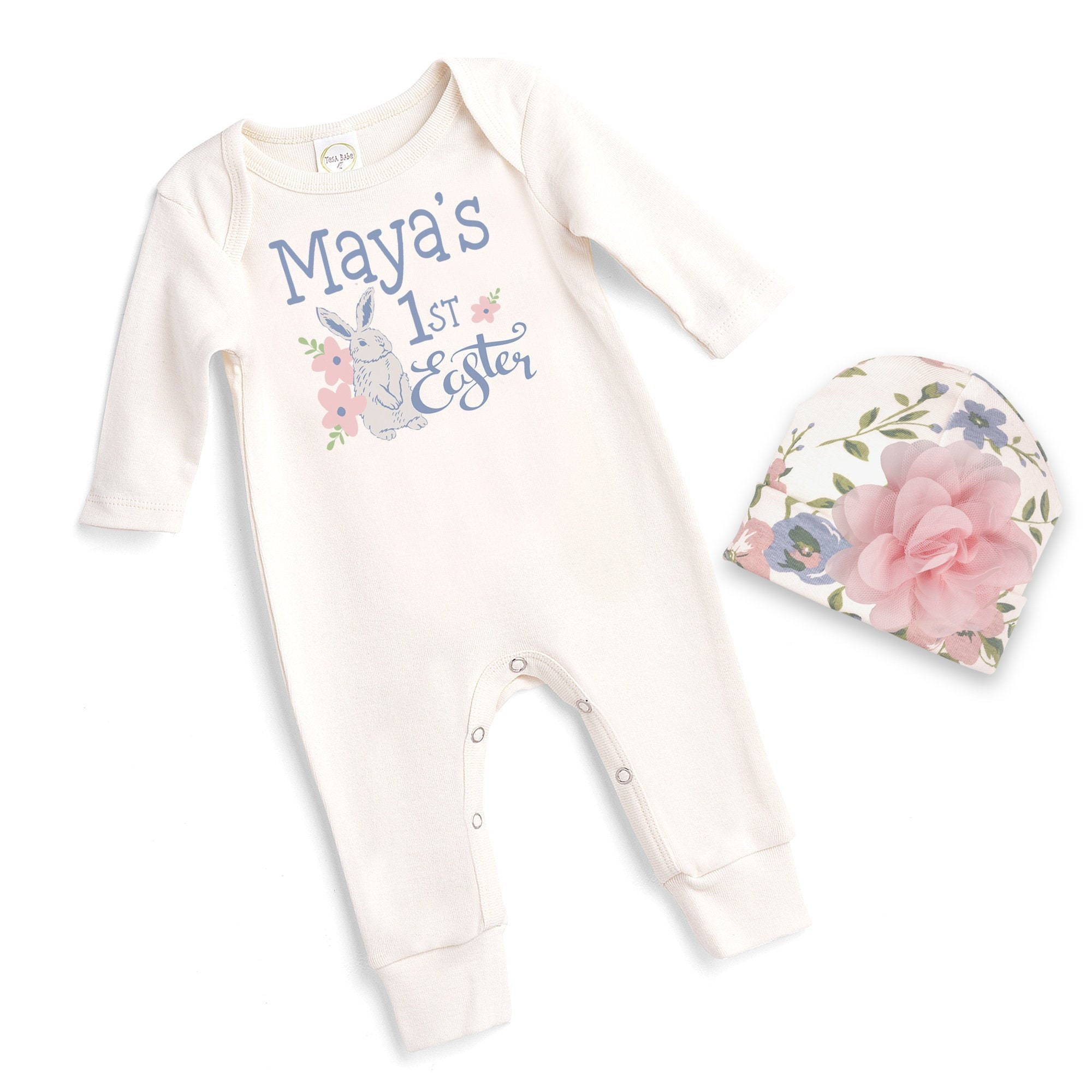 42e4b2716dae Personalized Baby Girl Easter Outfit