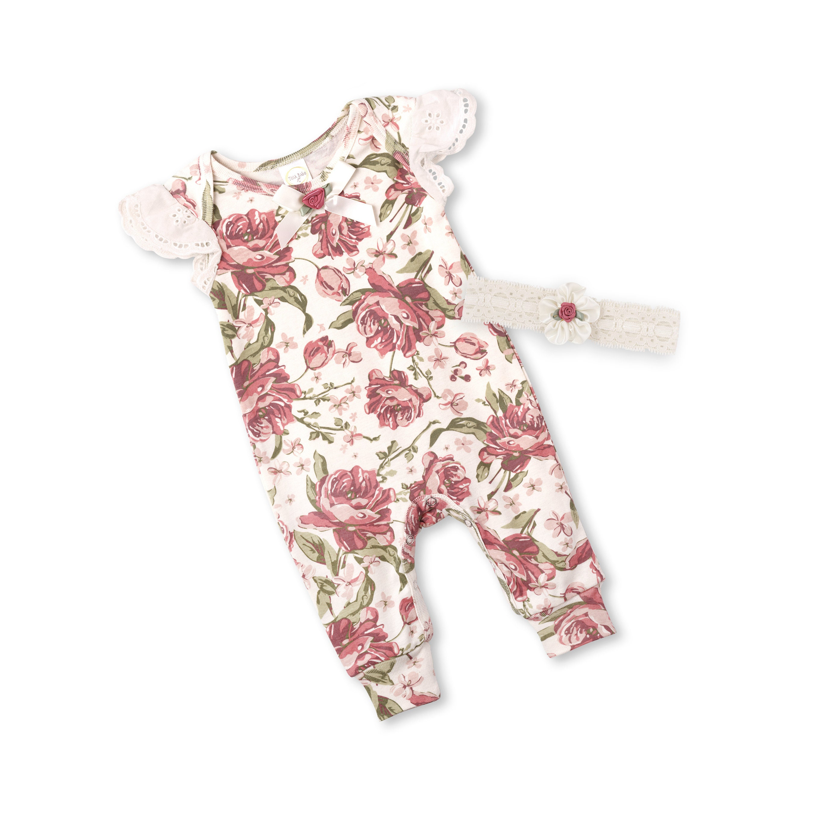 7e345d7fb Newborn Baby Girl Coming Home Outfit Baby Girl Lace Romper
