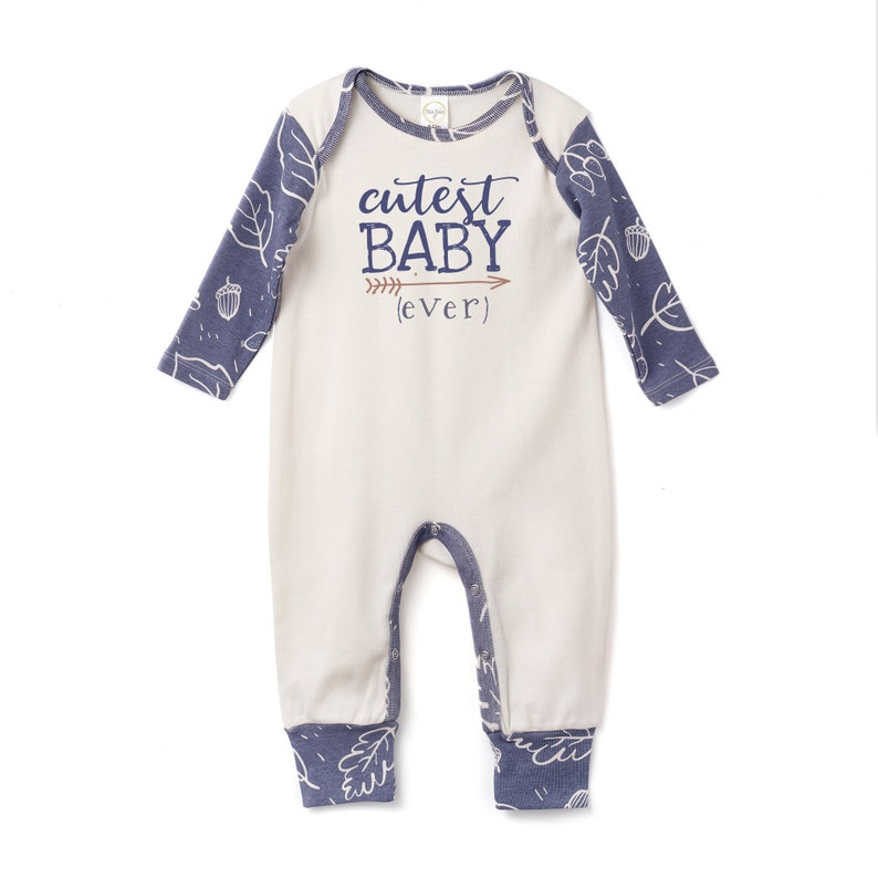 1993c8d5ed49 Baby Boy Outfit Newborn Baby Outfit Blue Neutral Baby