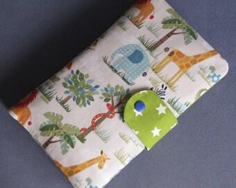 Diaper Clutch / Diaper Bag / Diaper Wipes Bag - jungle