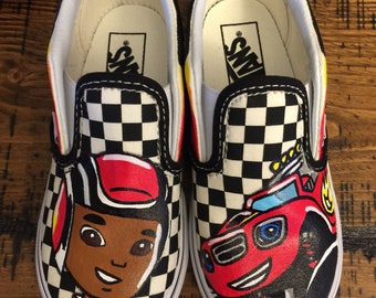 b322cc9fd52c Blaze   The Monster Machines Custom Vans Toddler Shoes
