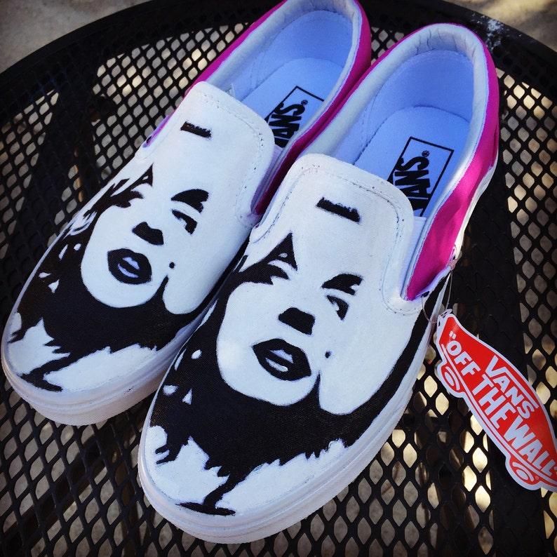 0bba903efc56 Marilyn Monroe Adult Custom Vans Shoes