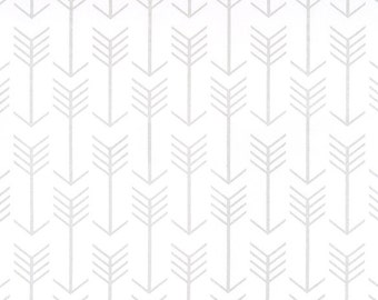 Silver Arrow Valance Window treatment Metallic print Valance.Holiday decor Cotton.Curtain Arrow Luna silver /& white Choose  your sizes
