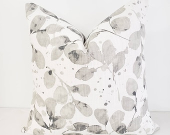 French Grey Pillow Cover Decorative