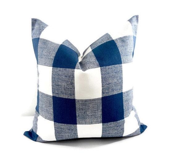 Fantastic Farmhouse Decor Blue Pillow Sofa Pillow Navy Blue And White Sofa Pillow Blue Cushion Cover Country Decor Sham Pillow Case Ibusinesslaw Wood Chair Design Ideas Ibusinesslaworg