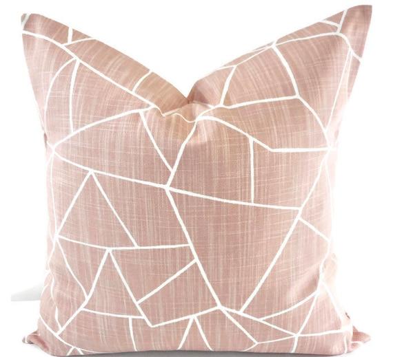 Farmhouse Pillows. Blush pink pillow