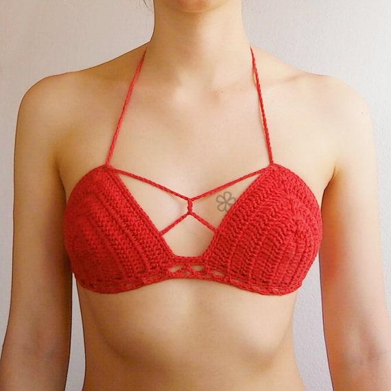The BONDAGE Crochet Bikini Top Pattern Multi Way Etsy Custom Crochet Bikini Top Pattern