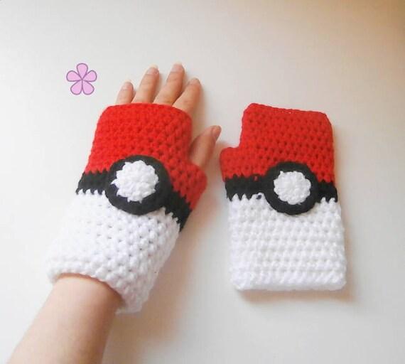 Pokemon Handschuhe Häkelanleitung Für Kinder Und Erwachsene Etsy
