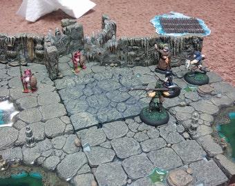 Blank Tile - Tabletop Game Tile **designed for Dwarven Forge Compatibility** (resin cast model)