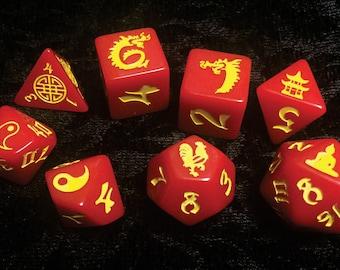 Double Dragon RPG Set (8 dice)