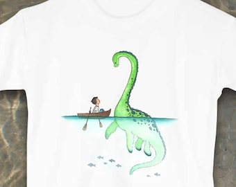 Nessie, Loch Ness Monster, Toddler shirts, Toddler tees, Cute kids clothes, Kids clothes, Animal clothes, Monster shirt, Dinosaur, Dino