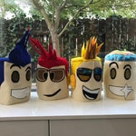 Roblox head mask costume CUSTOM look- Made to look just like your Avatar!