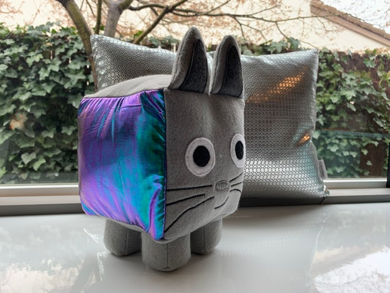 Custom Roblox Pet Simulator Reversible Sequin Rainbow Cat Without Code Custom Roblox Pet Simulator Reversible Sequin Rainbow Cat Etsy