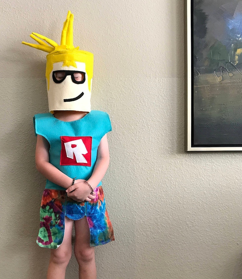 Roblox BODY costume for kids ages 4+ CUSTOM made to order!