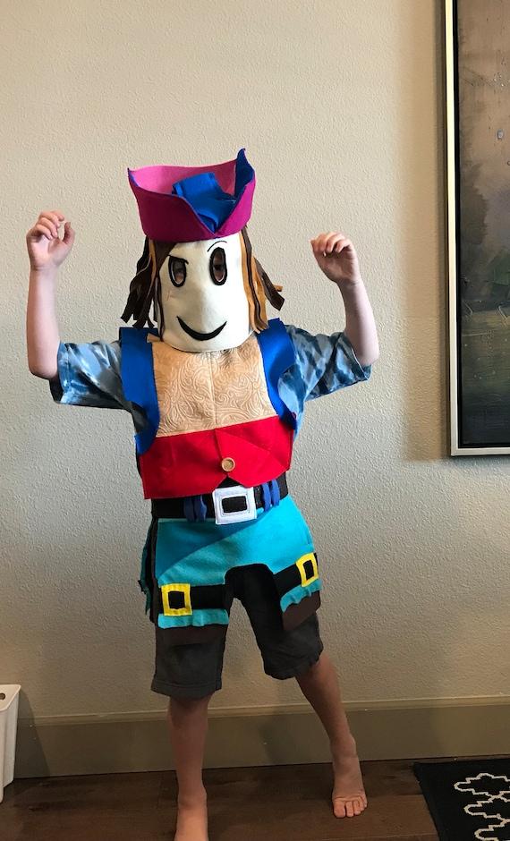 Roblox Costume Head Body Custom Made To Order Etsy