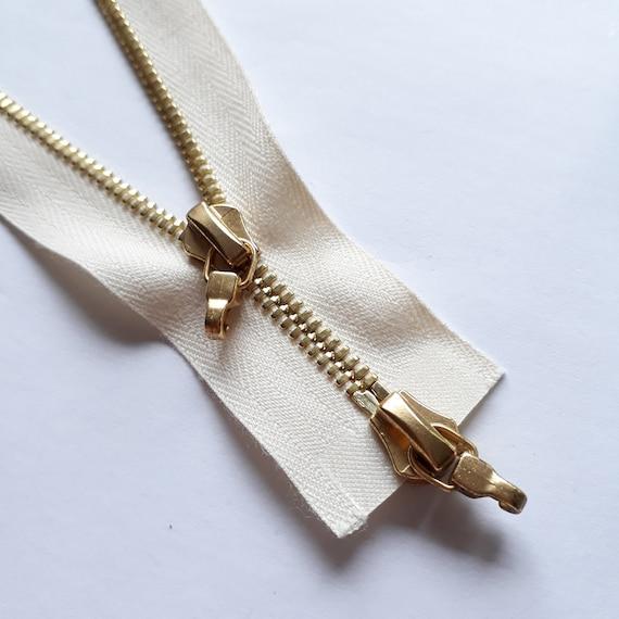 Reißverschluss NACHTBLAU Nylon Größe 3 teilbar 2-Wege YKK Zipper Cipzár Молния