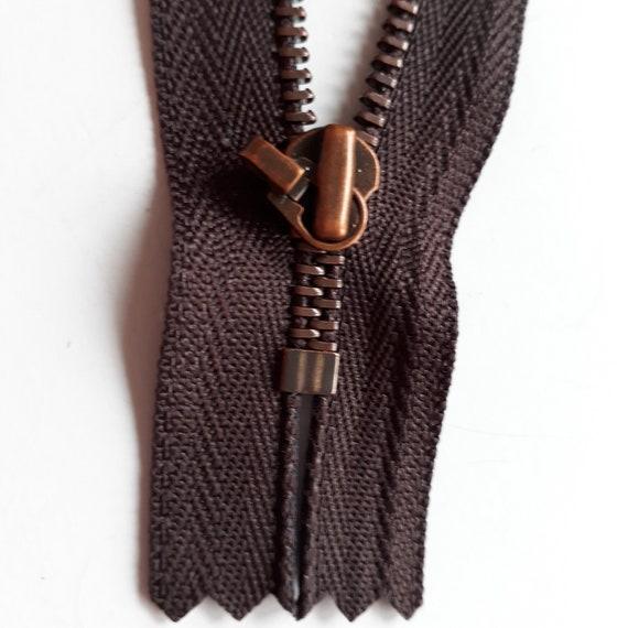 YKK di Metallo Nero migliore qualità 6 pollici estremità chiuse con cerniera Cerniera Larghezza Taglia 7