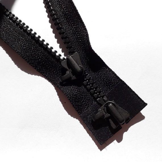 color negro YKK cremallera VISLON 2/V/ías divisible 5/mm 80/cm 580